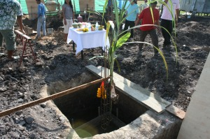 Buddhist Ceremony for the Building Foundations