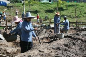 Burmese Ladies hard at Work
