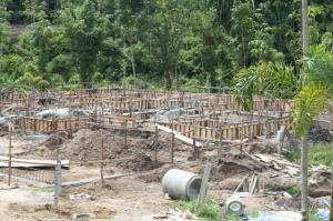 Villa Foundations complete