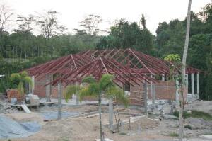 Villa taking shape