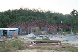 Villa Looking Good - Steel Roof Completed