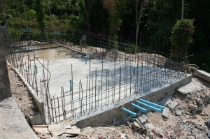 Swimming Pool Floor re-Concreted