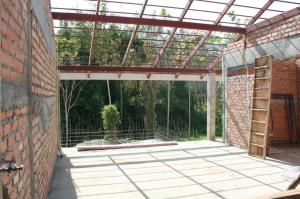 Internal brickwork - Master Bedroom