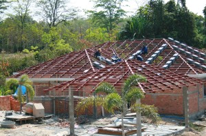 Roofing Tiles Arrive