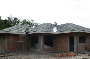 Ridge and Gully Roof Tiling
