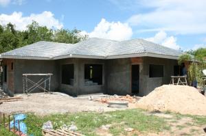 External Rending - Front of Villa