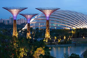 Singapore's new Botanical Garden - Article feature on Hometipster.com.
